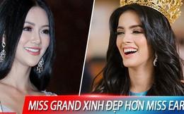 Hoa hậu Hòa bình bị 'ném đá' dữ dội vì cười hả hê khi được khen đẹp hơn Phương Khánh