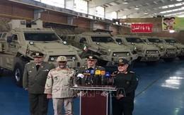 Iran công bố mẫu xe quân sự bọc thép nội địa