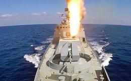 """Hải quân Nga """"động thủ"""" gần bờ biển Syria"""