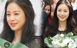 Kim Tae Hee đẹp xuất thần, thể hiện đẳng cấp đệ nhất mỹ nhân xứ Hàn tại sự kiện ở Hà Nội