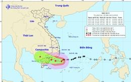 Bão số 9 sẽ quét từ Bình Thuận tới Bến Tre, TP.HCM mưa lớn