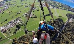 Clip: Người đàn ông bị quăng quật giữa trời vì 1 sai lầm tai hại của phi công hướng dẫn