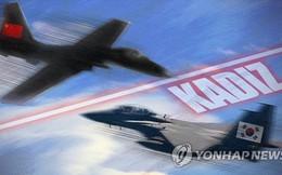 """Hàn Quốc điều 10 tiêm kích """"bám đuôi"""" máy bay quân sự Trung Quốc"""