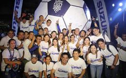 Khác với Việt Nam, khán giả tại Philippines có thể mua vé AFF Cup online siêu nhanh, chỉ trong một nốt nhạc