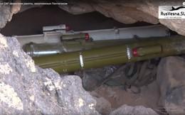 Quân đội Syria thu vũ khí của IS ở al-Safa, có cả vũ khí Mỹ và châu Âu