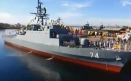 """Iran """"trình làng"""" tàu khu trục 100% nội địa"""