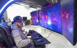 Cận cảnh dàn PC khủng 700 triệu đồng với 3 màn hình, có tính năng massage và có sẵn tủ lạnh