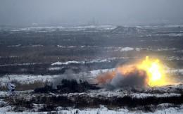 Ukraine tổ chức hàng loạt cuộc tập trận giữa lúc căng thẳng với Nga