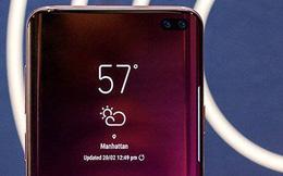 Samsung Galaxy S10+ lần đầu xuất hiện 'bằng da bằng thịt' với viền màn hình gần như không tồn tại