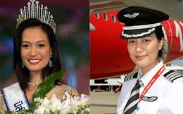 Nữ cơ trưởng xinh đẹp nhất Thái Lan: Thi Hoa hậu Hoàn vũ để kiếm tiền đóng học, bỏ hào quang vì giấc mơ bay