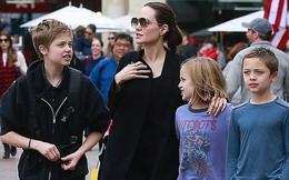 Angelina Jolie khoe 3 con ruột ngày càng cao lớn, thừa hưởng nét đẹp của cả bố lẫn mẹ