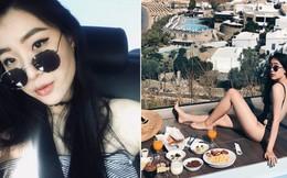 """Cô gái Việt làm việc cho hãng hàng không Đài Loan """"nóng bỏng"""" không thua gì người mẫu"""