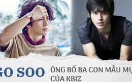 Go Soo: Nam thần ngày nào giờ đã là ông bố 3 con, yêu vợ chiều con nhất làng giải trí Hàn