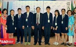 Phá kỷ lục, toàn bộ học sinh Việt Nam đều đạt giải tại Kỳ thi khoa học trẻ quốc tế 2018