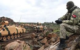 Thổ Nhĩ Kỳ chuẩn bị chiến dịch quân sự phía đông bắc Syria