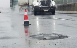 Sẽ vá đường cao tốc 34.500 tỉ đồng khi thời tiết thuận lợi