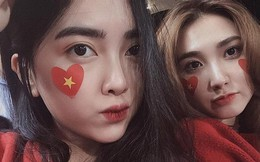 """Cùng bị đồn yêu Hà Đức Chinh và Bùi Tiến Dũng, tình """"chị ngã em nâng"""" của hai cô gái xinh đẹp bỗng được chú ý"""