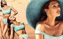 """Ngắm body chuẩn """"từng cm"""" của thiên thần Candice Swanepoel"""