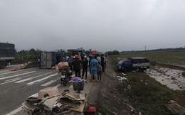 Tai nạn liên hoàn trên quốc lộ, hơn 30 người may mắn thoát chết