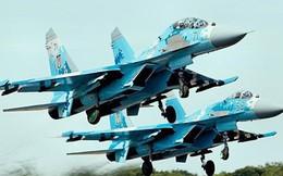 10 máy bay chiến đấu Sukhoi của Nga đã tới bán đảo Crimea
