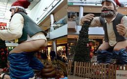 Quên ông già Noel đi, người dân vùng đất này đón Giáng Sinh bằng tượng... người đi cầu