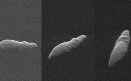 Tiểu hành tinh hình hà mã ngâm nước bay sượt qua Trái Đất