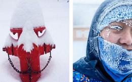 Chùm ảnh rét run: Băng tuyết chỉ lãng mạn trên phim, thực tế lại lạnh lẽo buốt giá như thế này