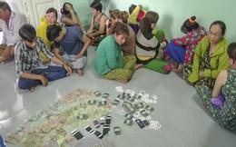 Bắt quả tang hàng chục người đánh bạc, thu giữ gần 140 triệu đồng