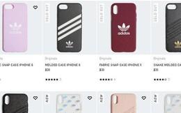 Adidas ra mắt bộ sưu tập vỏ ốp cho iPhone đủ màu đỏ, đen, tím, hồng và cả họa tiết da rắn