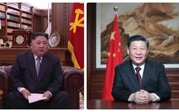 Khoảnh khắc đọc thông điệp năm mới 2019: Ông Kim Jong-un mô phỏng theo ông Tập Cận Bình?