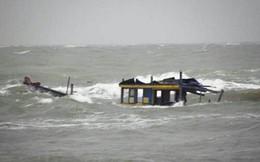 10 ngư dân mất tích sau khi tàu chìm trên bển