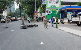Va chạm với xe máy khi đang trên đường đến chỗ làm, cô gái bị đứt gần lìa chân ở Sài Gòn