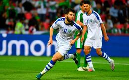 """Đại thắng 4-0, Uzbekistan """"giúp sức"""" Việt Nam trong cuộc đua vào vòng 1/8 Asian Cup"""