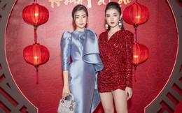 Á hậu Huyền My cực sexy khi xuất hiện cùng Hoa hậu Đỗ Mỹ Linh