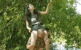 Vẻ nóng bỏng của cô gái đóng cảnh nhạy cảm với em trai NSƯT Xuân Hinh