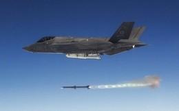 """Video: Tiêm kích F-35 của Mỹ bật chế độ """"quái thú"""", tiêu diệt cùng lúc 5 mục tiêu"""