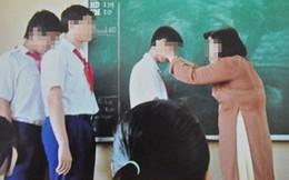 Thái Nguyên: Cô giáo bị phụ huynh tố phạt hàng loạt học sinh tự tát 50 cái vào mặt