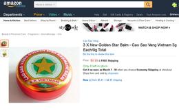 Cao sao vàng giá 7 USD, phin cà phê giá 10 USD, chổi đót gần 20 USD: Bán hàng trên Amazon dễ vậy sao?