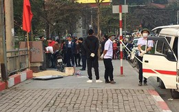 Hà Nội: Người dân tá hỏa phát hiện thi thể người đàn ông trên đường