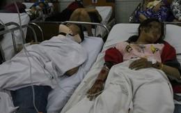 Vụ tai nạn thảm khốc ở Long An: Nhiều nạn nhân được chuyển lên Sài Gòn cấp cứu bằng xe ba gác