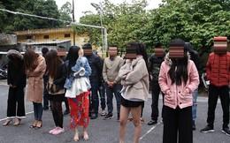 Hình sự bắt 16 nam nữ mở 'tiệc' ma túy đầu năm mới