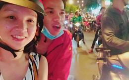 """Bắt xe ôm đúng lúc Việt Nam đá luân lưu, cô gái bỏ chuyến về quê, rủ luôn tài xế đi """"bão"""""""