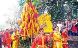 Tránh bạo lực phản cảm, lễ hội Đền Sóc bỏ cướp lộc hoa tre