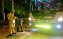 Điện Biên: 3 trong 5 lái xe khách vi phạm có dương tính với ma túy