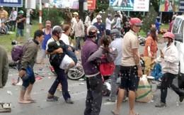 """Thai phụ vụ container tông 21 xe máy ám ảnh nhớ lại: """"Chân của một người chết đè lên chân tôi"""""""