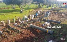 """Quân đội Syria phát hiện một kho vũ khí bí mật của """"quân nổi dậy"""" ở tỉnh Homs"""
