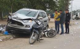 """Vụ """"xe điên"""" tông vợ chồng tử vong: Người dân vẫy xe tải đưa nạn nhân đi cấp cứu"""