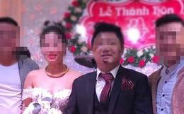 Ăn mặc bảnh bao, nổi bật trong hôn lễ nhưng khuôn mặt của chú rể mới là điều gây chú ý