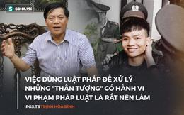 """Đám trẻ reo hò nơi tòa xử Khá """"Bảnh"""": Một thứ bất bình thường trong xã hội"""