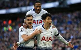 Vòng 26 Premier League: Tottenham 3-1 Leicester